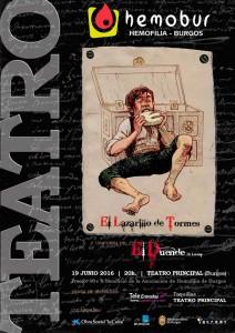 CARTEL LAZARILLO+OBRA SOCIAL CAIXA
