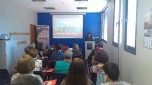 Ponencia de Dª Raquel Moreno, psicóloga de la asociación AFABUR